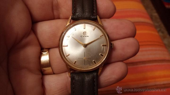 Relojes de pulsera: Reloj antiguo Cyma, con el afamado k-586 y un número de maquiaria 387063, muy bajo - Foto 10 - 43612719
