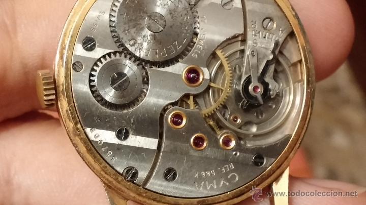 Relojes de pulsera: Reloj antiguo Cyma, con el afamado k-586 y un número de maquiaria 387063, muy bajo - Foto 16 - 43612719