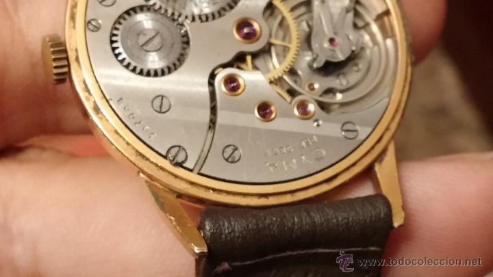 Relojes de pulsera: Reloj antiguo Cyma, con el afamado k-586 y un número de maquiaria 387063, muy bajo - Foto 17 - 43612719