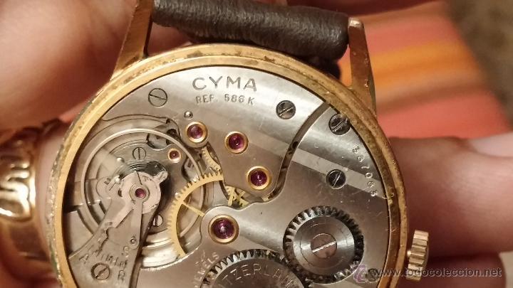 Relojes de pulsera: Reloj antiguo Cyma, con el afamado k-586 y un número de maquiaria 387063, muy bajo - Foto 18 - 43612719