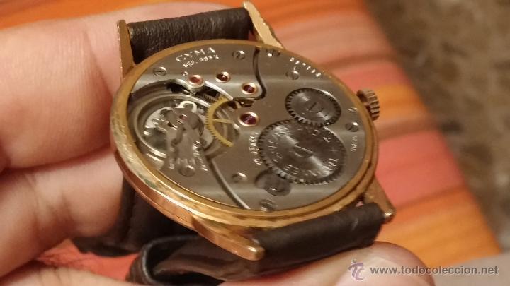 Relojes de pulsera: Reloj antiguo Cyma, con el afamado k-586 y un número de maquiaria 387063, muy bajo - Foto 20 - 43612719