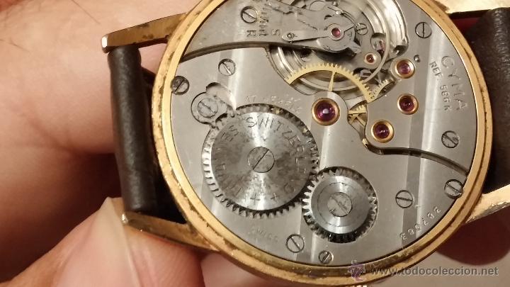 Relojes de pulsera: Reloj antiguo Cyma, con el afamado k-586 y un número de maquiaria 387063, muy bajo - Foto 21 - 43612719