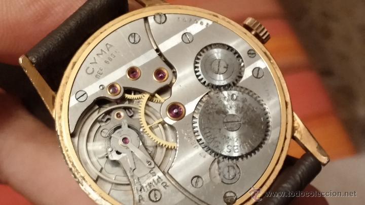 Relojes de pulsera: Reloj antiguo Cyma, con el afamado k-586 y un número de maquiaria 387063, muy bajo - Foto 24 - 43612719