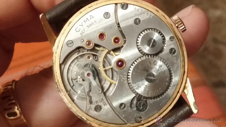 Relojes de pulsera: Reloj antiguo Cyma, con el afamado k-586 y un número de maquiaria 387063, muy bajo - Foto 25 - 43612719