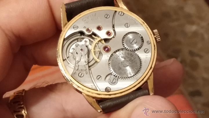 Relojes de pulsera: Reloj antiguo Cyma, con el afamado k-586 y un número de maquiaria 387063, muy bajo - Foto 26 - 43612719