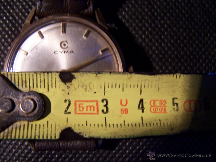 Relojes de pulsera: Reloj antiguo Cyma, con el afamado k-586 y un número de maquiaria 387063, muy bajo - Foto 27 - 43612719