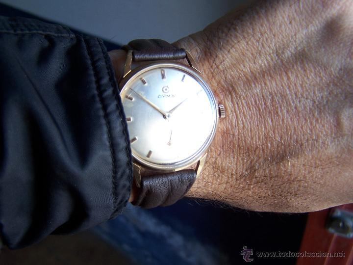 Relojes de pulsera: Reloj antiguo Cyma, con el afamado k-586 y un número de maquiaria 387063, muy bajo - Foto 28 - 43612719