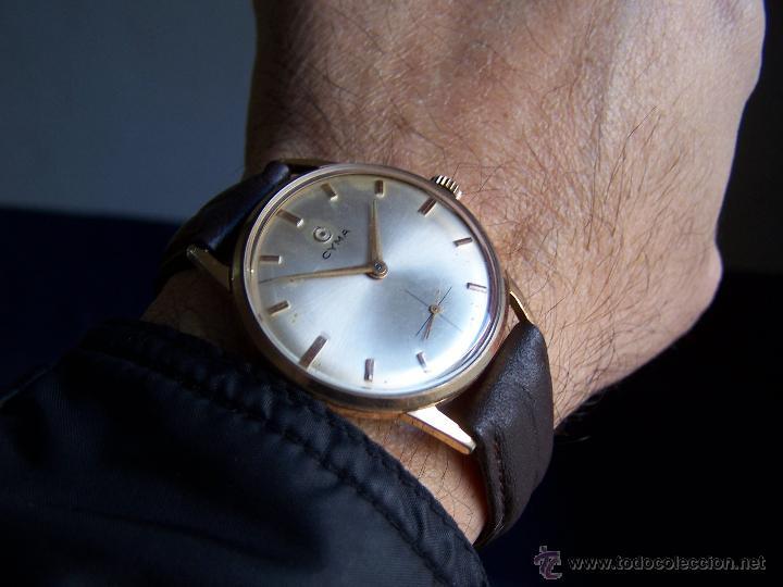 Relojes de pulsera: Reloj antiguo Cyma, con el afamado k-586 y un número de maquiaria 387063, muy bajo - Foto 31 - 43612719
