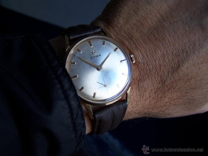 Relojes de pulsera: Reloj antiguo Cyma, con el afamado k-586 y un número de maquiaria 387063, muy bajo - Foto 33 - 43612719