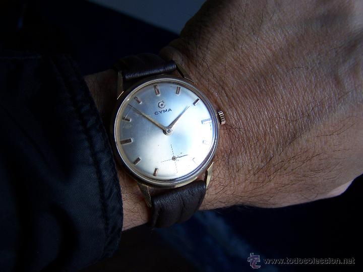 Relojes de pulsera: Reloj antiguo Cyma, con el afamado k-586 y un número de maquiaria 387063, muy bajo - Foto 36 - 43612719
