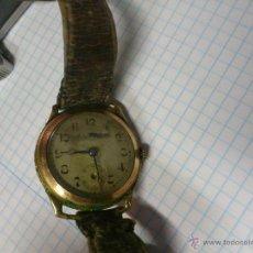 Relojes de pulsera: ANTIGUO RELOJ A CUERDA 4 JEWELS SWISS MADE. FUNCIONANDO. Lote 43617347