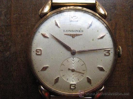 793f4dbf19c1 4 fotos ANTIGUO RELOJ LONGINES DE ORO (Relojes - Pulsera Carga Manual) ...