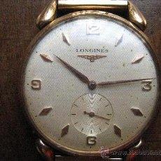 Relojes de pulsera: ANTIGUO RELOJ LONGINES DE ORO. Lote 28546567