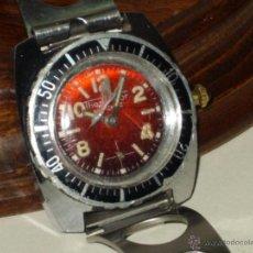 Relojes de pulsera: ANTIGUO RELOJ DE PULSERA MUJER THERMIDOR,CARGA MANUAL,CORREA DE ACERO ORIGINAL.. Lote 146541721