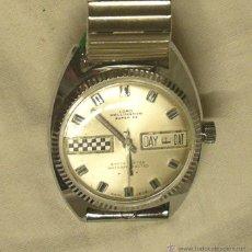 Relojes de pulsera: LORD WELLINGTON CALENDARIO, FUNCIONA, A ESTRENAR, RESTO RELOJERIA. MED. 3,50 CM SIN CONTAR CORONA. Lote 43808008