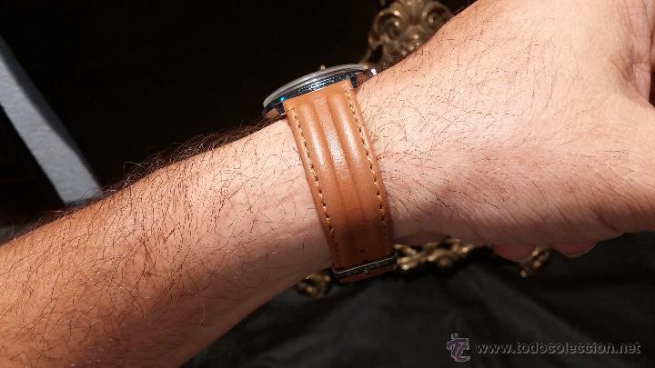 Relojes de pulsera: Antiguo reloj de caballero Cyma Tavanes, a cuerda, de finales de los 50, del raro calibre 484.2 - Foto 4 - 43939708