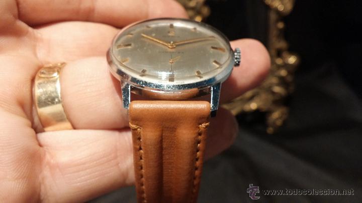 Relojes de pulsera: Antiguo reloj de caballero Cyma Tavanes, a cuerda, de finales de los 50, del raro calibre 484.2 - Foto 9 - 43939708