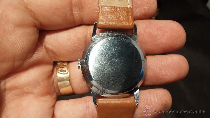 Relojes de pulsera: Antiguo reloj de caballero Cyma Tavanes, a cuerda, de finales de los 50, del raro calibre 484.2 - Foto 17 - 43939708
