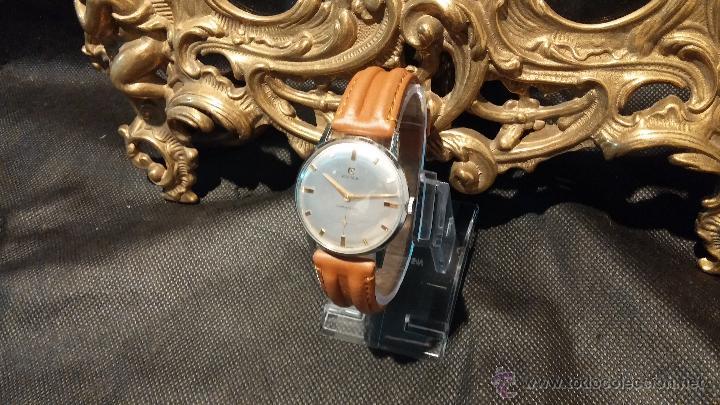 Relojes de pulsera: Antiguo reloj de caballero Cyma Tavanes, a cuerda, de finales de los 50, del raro calibre 484.2 - Foto 22 - 43939708