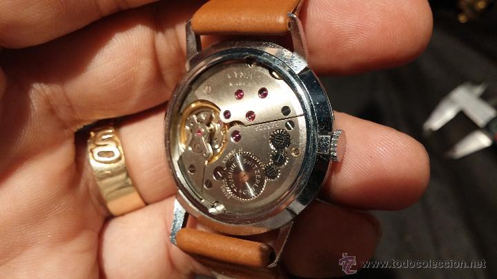 Relojes de pulsera: Antiguo reloj de caballero Cyma Tavanes, a cuerda, de finales de los 50, del raro calibre 484.2 - Foto 28 - 43939708