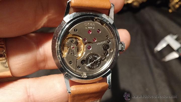 Relojes de pulsera: Antiguo reloj de caballero Cyma Tavanes, a cuerda, de finales de los 50, del raro calibre 484.2 - Foto 29 - 43939708