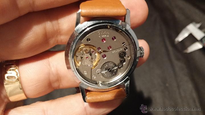 Relojes de pulsera: Antiguo reloj de caballero Cyma Tavanes, a cuerda, de finales de los 50, del raro calibre 484.2 - Foto 31 - 43939708