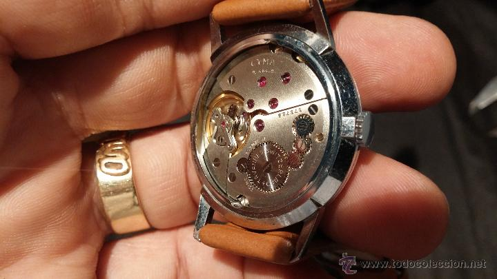Relojes de pulsera: Antiguo reloj de caballero Cyma Tavanes, a cuerda, de finales de los 50, del raro calibre 484.2 - Foto 33 - 43939708