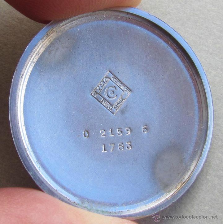 Relojes de pulsera: Antiguo reloj de caballero Cyma Tavanes, a cuerda, de finales de los 50, del raro calibre 484.2 - Foto 35 - 43939708
