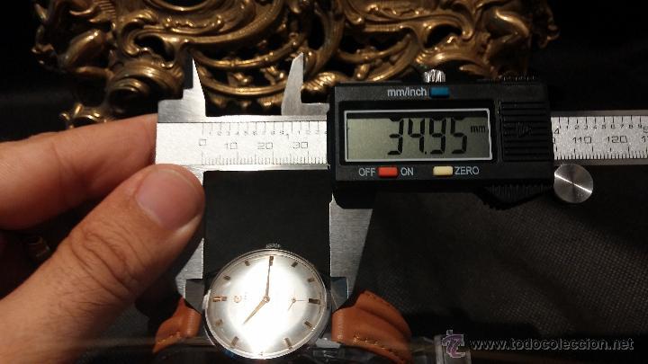 Relojes de pulsera: Antiguo reloj de caballero Cyma Tavanes, a cuerda, de finales de los 50, del raro calibre 484.2 - Foto 37 - 43939708
