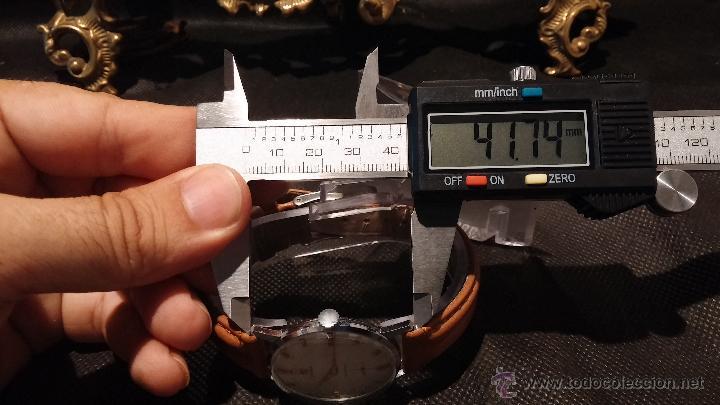 Relojes de pulsera: Antiguo reloj de caballero Cyma Tavanes, a cuerda, de finales de los 50, del raro calibre 484.2 - Foto 39 - 43939708