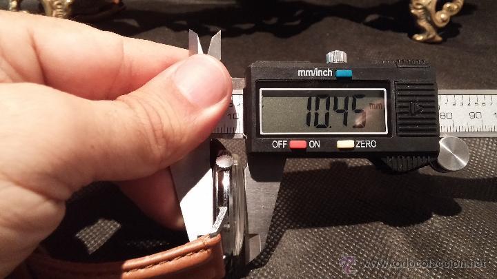 Relojes de pulsera: Antiguo reloj de caballero Cyma Tavanes, a cuerda, de finales de los 50, del raro calibre 484.2 - Foto 40 - 43939708