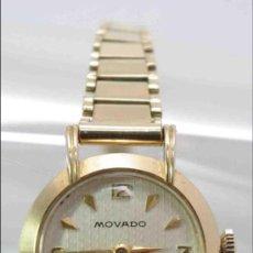 Relojes de pulsera: RELOJ SEÑORA MOVADO DE ORO 18 QUILATES - GOLDEN LADY MOVADO WATCH 18 CARATS.. Lote 37705313