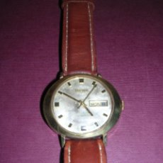 Relojes de pulsera: ANTIGUO RELOJ BULOVA AUTOMATICO CHAPADO . ESTADO DE MARCHA 4X4,4 CM. . Lote 44200172