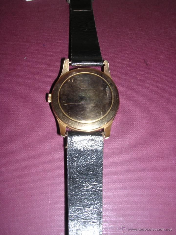 Relojes de pulsera: ANTIGUO RELOJ DE PULSERA CARGA MANUAL ORO 18 KL.- CYMA - ESTADO DE MARCHA , BUEN ESTADO 4,9X4,3 CM. - Foto 3 - 44203956