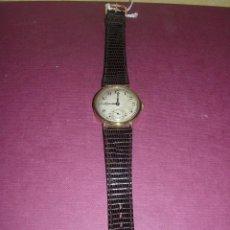 Relojes de pulsera: ANTIGUO RELOJ DE PULSERA CARGA MANUAL DE ORO 18 KL. MARCA CYMA , ESTADO DE MARCHA 39X3,5 CM.. Lote 44204029