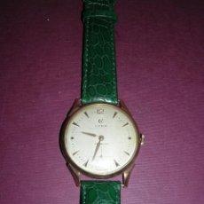 Relojes de pulsera: ANTIGUO RELOJ DE PULSERA CARGA MANUAL ORO 18 KL.- CYMA - ESTADO DE MARCHA , BUEN ESTADO 5X4,3 CM.. Lote 44204115