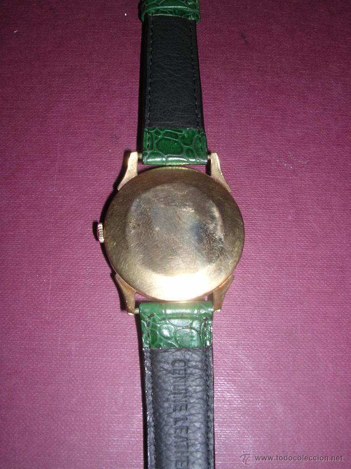 Relojes de pulsera: ANTIGUO RELOJ DE PULSERA CARGA MANUAL ORO 18 KL.- CYMA - ESTADO DE MARCHA , BUEN ESTADO 5X4,3 CM. - Foto 3 - 44204115