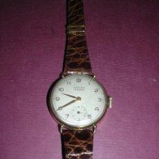Relojes de pulsera: ANTIGUO RELOJ DE PULSERA DE ORO 18KL.CARGA MANUAL MARCA ANCRE 15 RUBIS PRECISA REPASO ,. Lote 44204595
