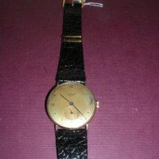 Relojes de pulsera: ANTIGUO RELOJ DE PULSERA CARGA MANUAL ORO 18 KL. MARCA UNIVERSAL GENEVE . ESTADO DE MARCHA 4X3,5 CM.. Lote 44204708