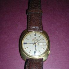 Relojes de pulsera: ANTIGUO RELOJ - (PILA CERAMICA ) CERAMICO - ORO 18 KL. BULOVA ACCUTRON - 4X3,7 CM. . Lote 44204815