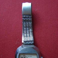 Relojes de pulsera: ANTIGUO RELOJ DE PULSERA DE CABALLERO. MARCA SATARA DIGITAL. SWISS. AÑOS 60. Lote 44439785