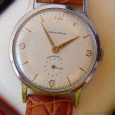 Relojes de pulsera: RAMADES RELOJ DE CUERDA PARA HOMBRE - HECHO POR GEORGE KRAMER - 1 JEWEL, MUY RARO. Lote 42243562