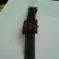 Relojes de pulsera: RELOJ DE PULSERA EN MADERA MARCA ARTE JAGE. . Lote 44526569