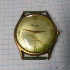 Relojes de pulsera: RELOJ DE CUERDA DOMAR 17 RUBIS SWISS MADE FUNCIONANDO. Lote 44812602