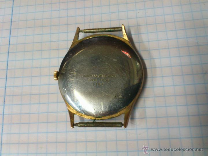 Relojes de pulsera: RELOJ DE CUERDA DOMAR 17 RUBIS SWISS MADE FUNCIONANDO - Foto 2 - 44812602