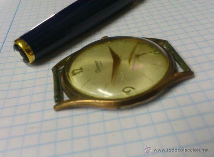 Relojes de pulsera: RELOJ DE CUERDA DOMAR 17 RUBIS SWISS MADE FUNCIONANDO - Foto 3 - 44812602