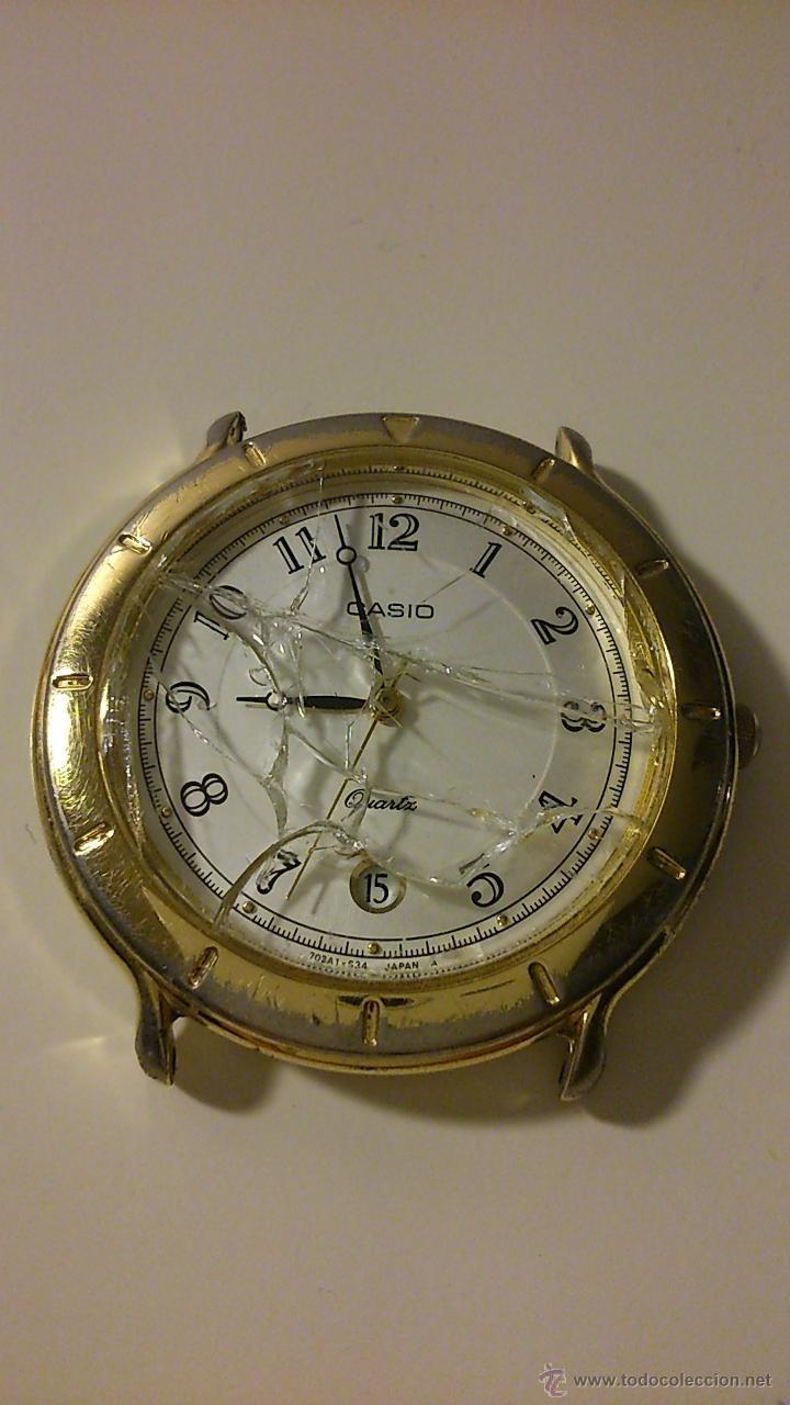 Reloj de hombre antiguo. Marca: Casio.
