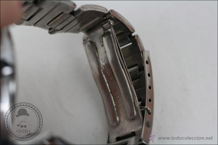 Relojes de pulsera: Reloj de Pulsera Masculino Massy de Luxe - Piezas o Restauración - Plateado - Caja 35 Mm Diámetro - Foto 6 - 45135661