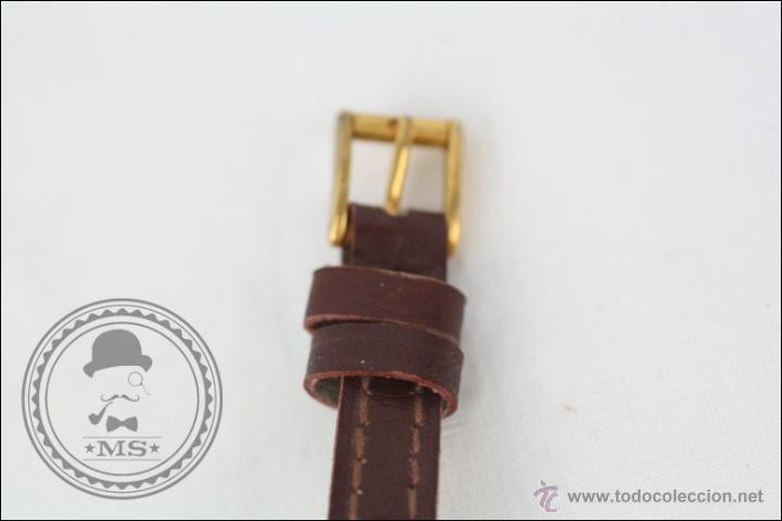Relojes de pulsera: Reloj de Pulsera Femenino J. Boix - Manual. Funciona - Chapado en Oro - Caja 23 x 15 Mm - Foto 3 - 45145514