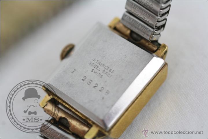 Relojes de pulsera: Reloj de Pulsera Femenino Titan - Manual - Correa Eslabones. Dorado - Caja 16 x 16 Mm - Foto 6 - 45145870